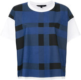 Sofie D'hoore check print T-shirt - women - Cotton - 38