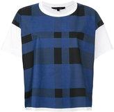 Sofie D'hoore check print T-shirt