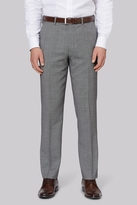 Ted Baker Tailored Fit Neutral Birdseye Trouser