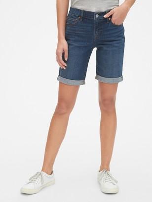 """Gap Mid Rise 9"""" Denim Bermuda Shorts"""