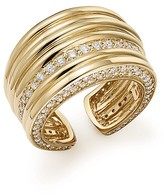 Bloomingdale's Diamond Multi-Row Statement Ring in 14K Yellow Gold, 1.65 ct. t.w.