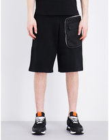 Givenchy Zip Pocket Cotton Shorts