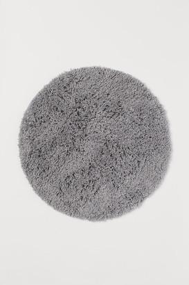 H&M Deep Pile Bath Mat - Gray