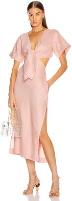 Cult Gaia Maya Dress in Dusty Pink | FWRD