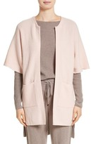 St. John Women's Patch Pocket Cashmere Cardigan
