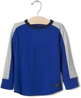 Gap Long sleeve colorblock tee
