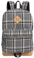 Steve Madden Men's Dome Plaid Classic Backpack