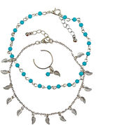 Arizona Womens 3-pc. Jewelry Set