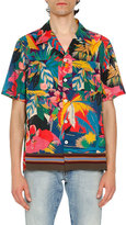 Valentino Tropical Short-Sleeve Shirt, Multicolor