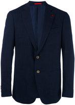 Isaia contrast blazer - men - Silk/Linen/Flax/Cupro/Wool - 48