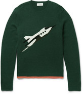 Coach - Rocket Ship Intarsia Cashmere Sweater