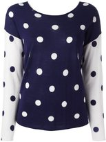 Sun 68 polka dot jumper - women - Merino - L