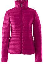 Classic Women's Plus Size Lightweight Down Jacket-Crimson Currant