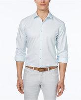 Alfani Men's Dot-Print Long-Sleeve Shirt, Classic Fit