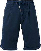 Eleventy drawstring detail shorts - men - Cotton/Spandex/Elastane - 30