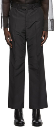 Our Legacy Black High Top Chino Trousers