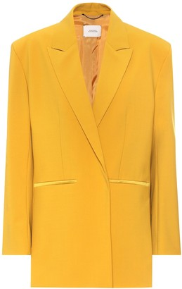 Schumacher Dorothee Refreshing Ambition wool-blend blazer