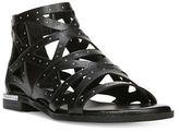 Fergie Crazy Leather Cutout Sandals