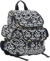 Carter's Baby Aztec Jacquard Backpack Diaper Bag - Black
