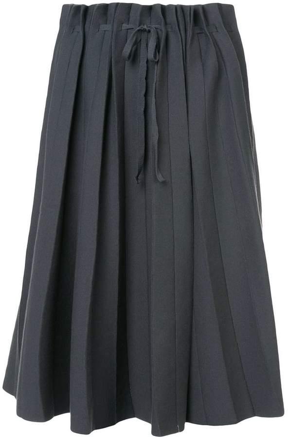 Label Under Construction pleated full skirt
