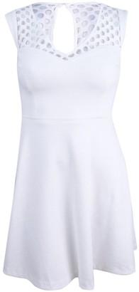 Betsey Johnson Women's Stretch Jacquard Fit & Flare Dress