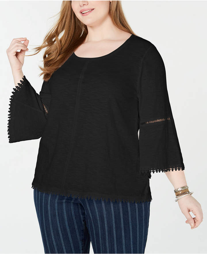 a259878bca2c Plus Size Crochet Top - ShopStyle