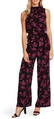 CeCe Romantic Mystic Floral Jumpsuit