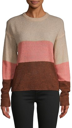 Joie Colorblock Wool-Blend Sweater