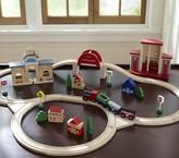 Pottery Barn Kids Wooden Train Set