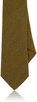 Barneys New York Men's Silk-Blend Necktie-YELLOW