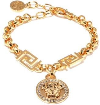 Versace Medusa-medallion Bracelet - Gold
