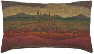 Austin Horn Classics Desert Sunset Boudoir Throw Pillow