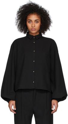 Totême Black Novale Shirt