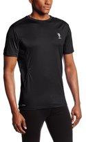 U.S. Polo Assn. Men's Mesh-Panel Base-Layer Crew-Neck T-Shirt