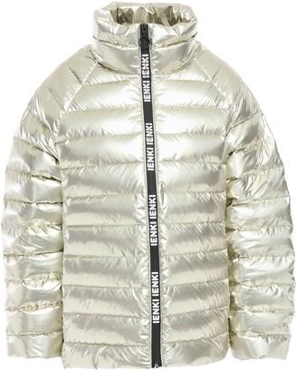 Ienki Ienki Anon Printed Metallic Quilted Shell Jacket