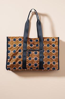 Shade Akanbi Poppy Weekender Bag By Shade Akanbi in Brown