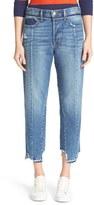 Frame Women's Vintage Fit High Waist Crop Jeans
