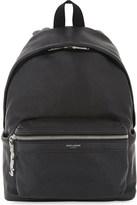 Saint Laurent City mini leather backpack