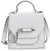 Mackage Mini Rubie Leather Shoulder Bag - White