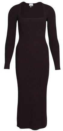 Ganni Melange knit dress