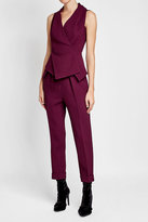Roland Mouret Wool Top with Peplum