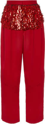 Rachel Comey Divide Embellished Pleated Wool Pants