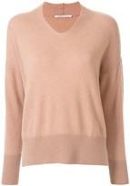 Agnona cashmere V-neck sweater