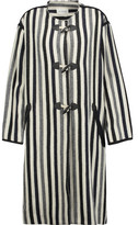 Etoile Isabel Marant Belia Striped Wool-Blend Coat
