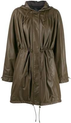 Drome textured hooded jacket