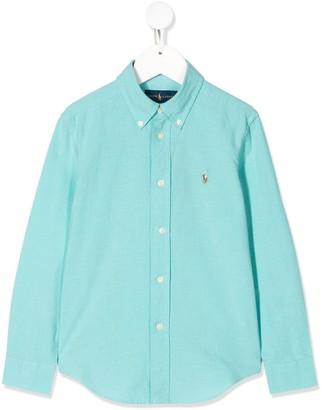 Ralph Lauren Kids Button-Down Logo Shirt