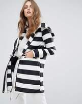 Vero Moda Stripe Raincoat