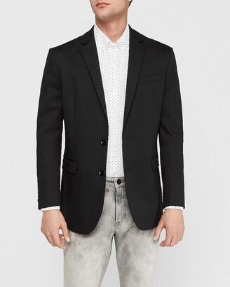 Express Extra Slim Performance Cotton Blazer