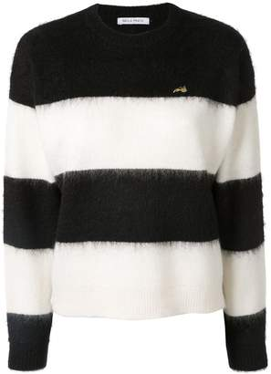 Bella Freud striped long-sleeve sweater