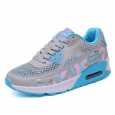 KAZME Women's Breathable Height Increasing Platform Running Shoes / US 5.5